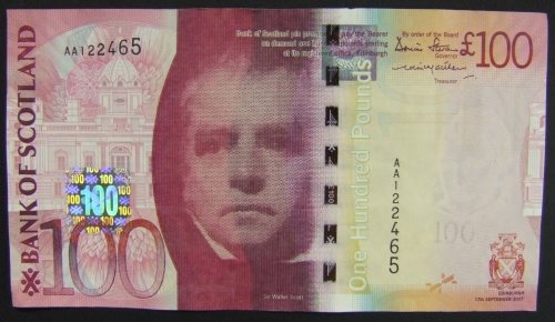 Scottish 100 Pound Note