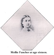 Mollie Fancher as youth